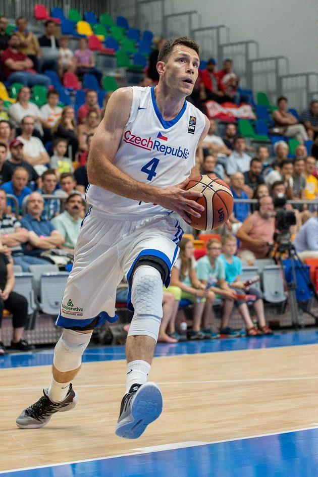 Český basketbalista Petr Benda.