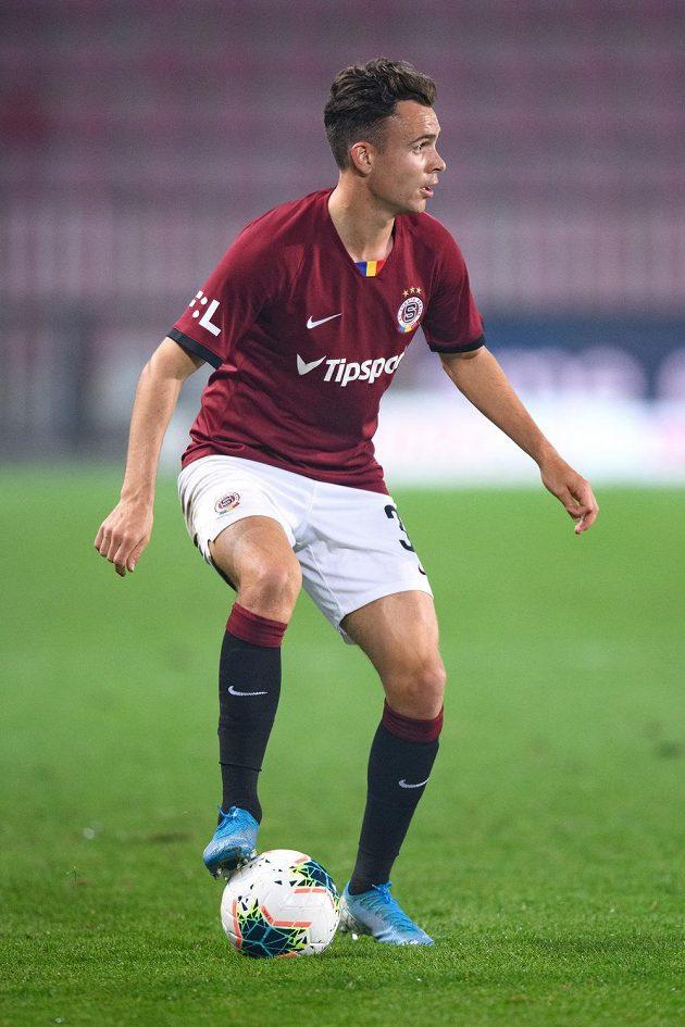 Andreas Vindheim během utkání s Bohemians