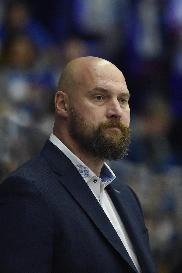 Trenér hokejového Brna Libor Zábranský.