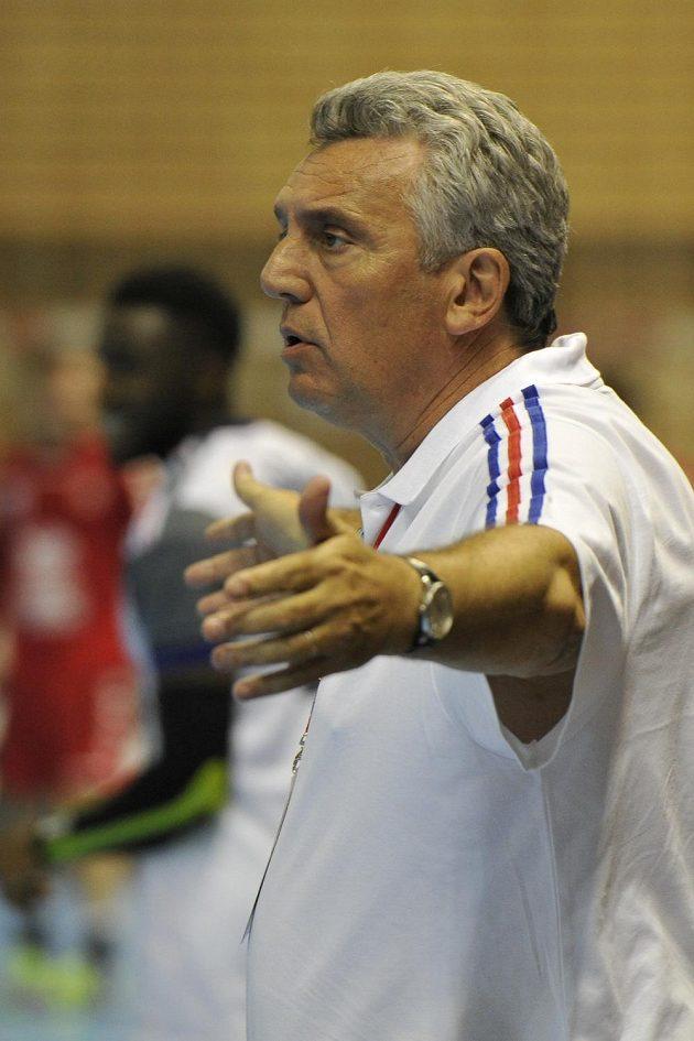 Trenér francouzských házenkářů Claude Onesta.