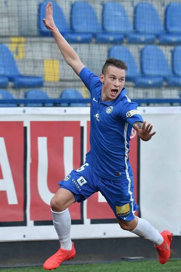 Autor prvního a druhého gólu Liberce v oidvetě proti Larnace Jan Sýkora.