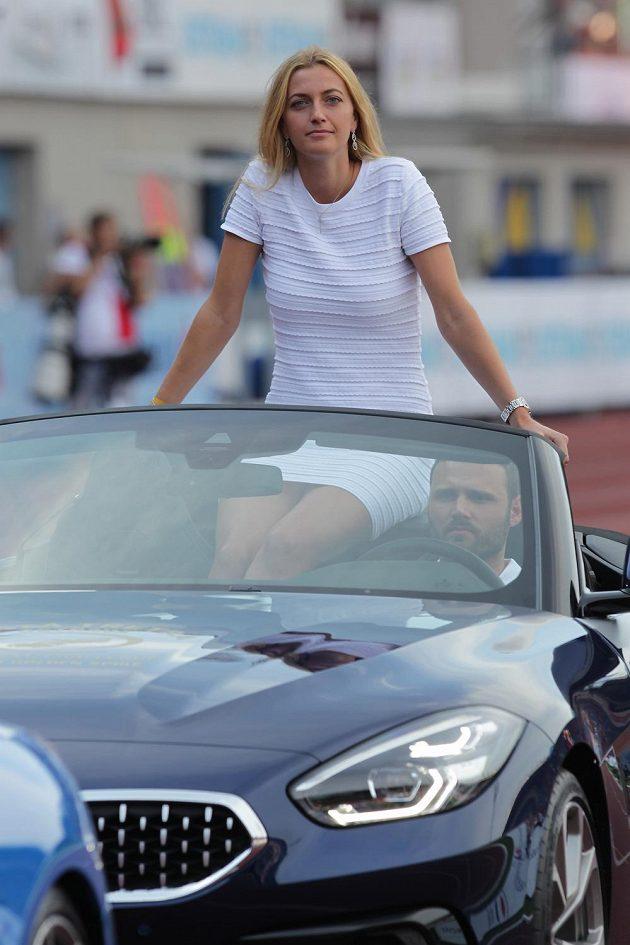 Petra Kvitová potěšila fanoušky na Zlaté tretře