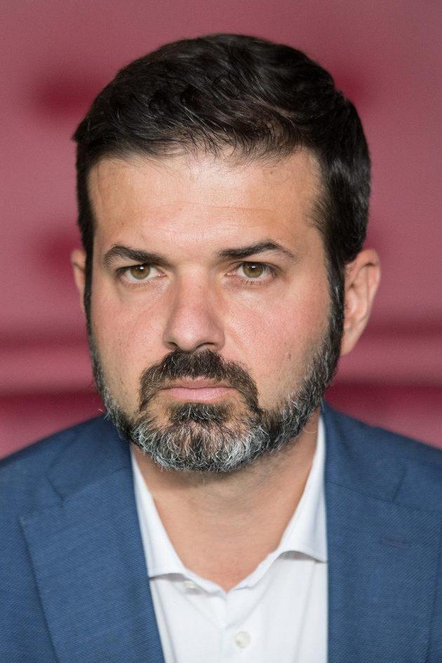 Italský trenér Sparty Andrea Stramaccioni.
