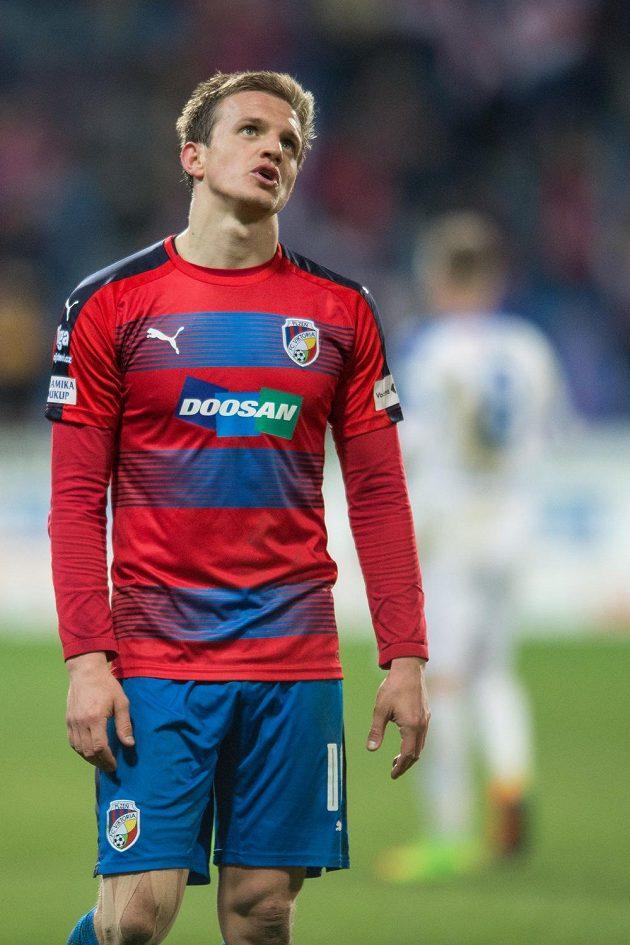 Jan Kopic z Viktorie Plzeň po utkání s Libercem.
