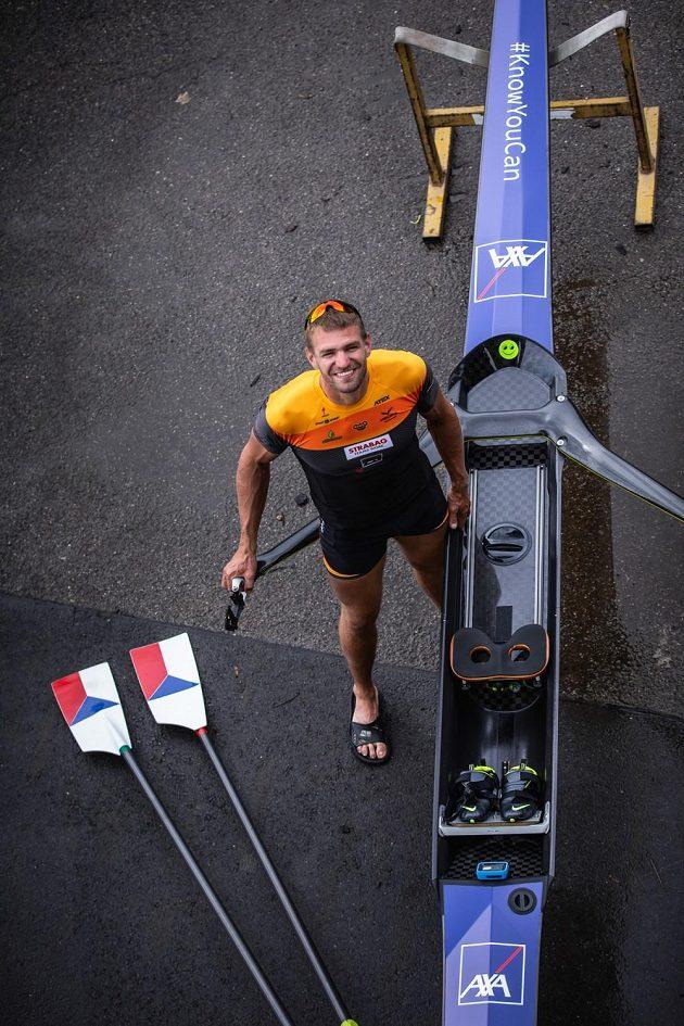 Český reprezentant - skifař Ondřej Synek.