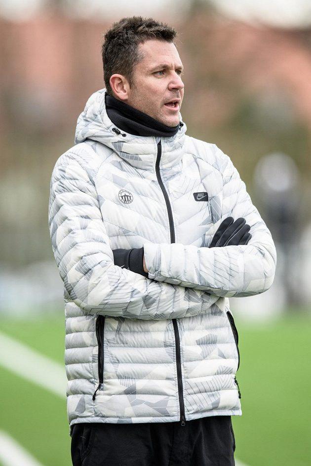 Trenér Liberce David Holoubek.