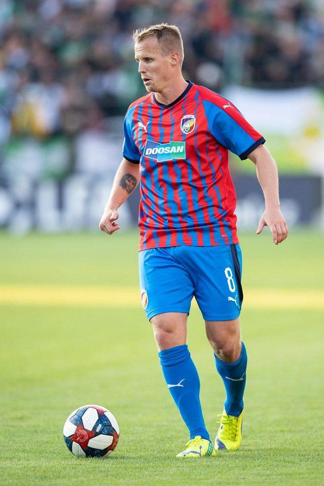 David Limberský z Viktorie Plzeň během utkání 4. kola Fortuna ligy na hřišti Bohemians.