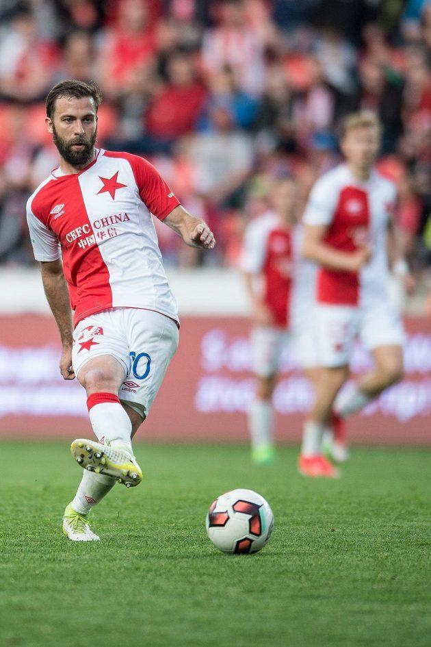 Josef Hušbauer ze Slavie dohrává sezónu zarostlý jako Rumcajs...