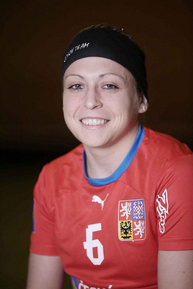 Florbalistka Anet Jarolímová.