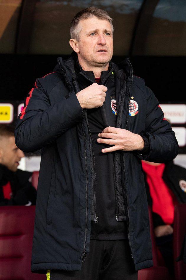 Michal Horňák jel do Opavy jako hlavní trenér Sparty.