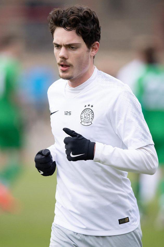 Zimní posila Sparty Praha David Moberg Karlsson.
