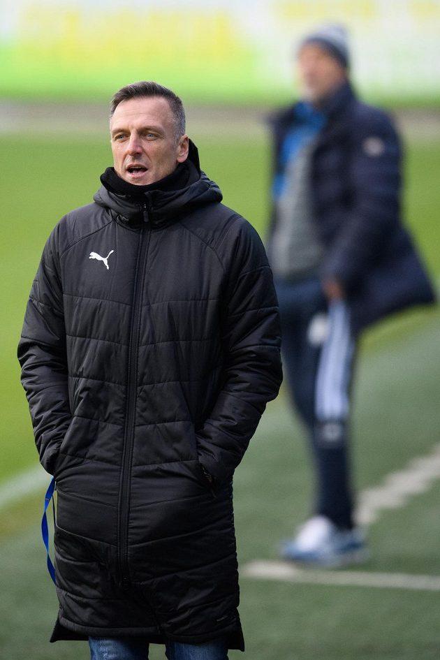 Trenér Baníku Ostrava Luboš Kozel.