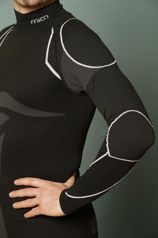 Triko Mico Skintech Warmskin: strukturované pohodlí.