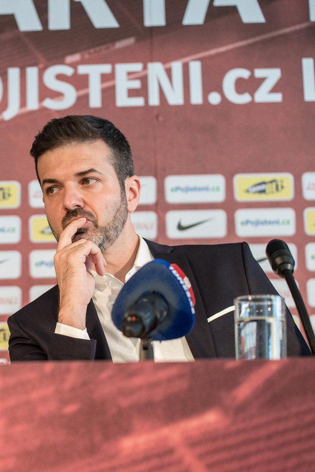 Nový trenér Sparty Andrea Stramaccioni.