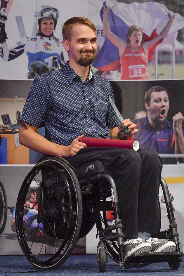 Střelec Tomáš Pešek byl v Praze vyhlášen vítězem ankety Nejlepší handicapovaný sportovec ČR roku 2019.