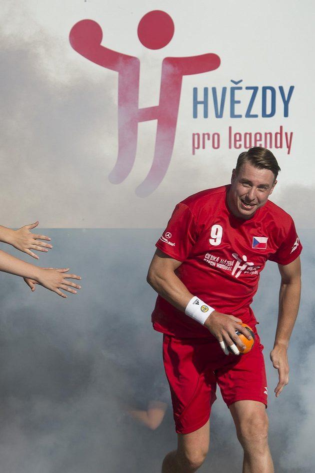 Filip Jícha odehrál poločas v dresu československého výběru.