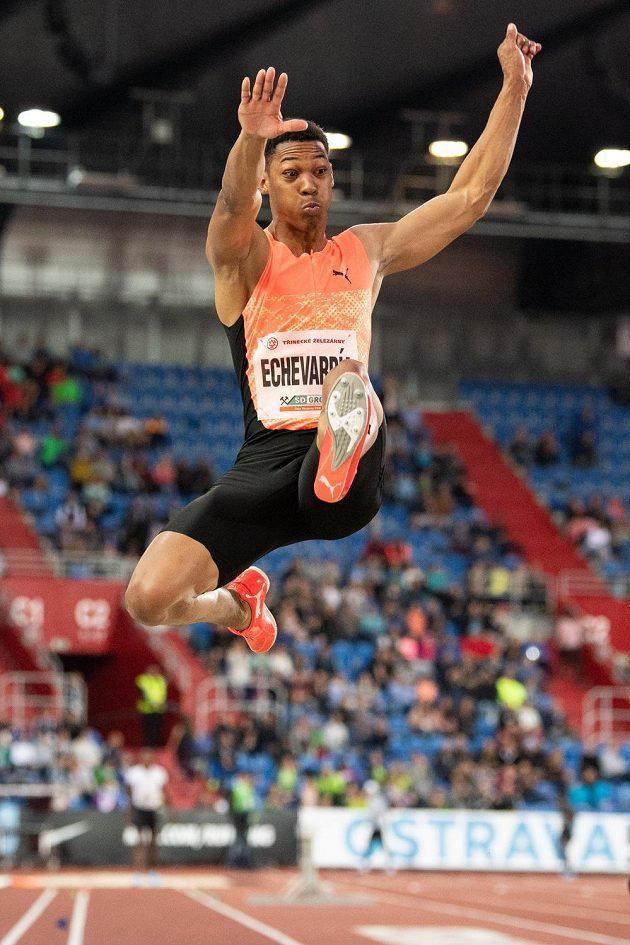 Výkon večera předvedl při Zlaté tretře 2018 kubánský dálkař Juan Miguel Echevarría, skočil 866 centimetrů.