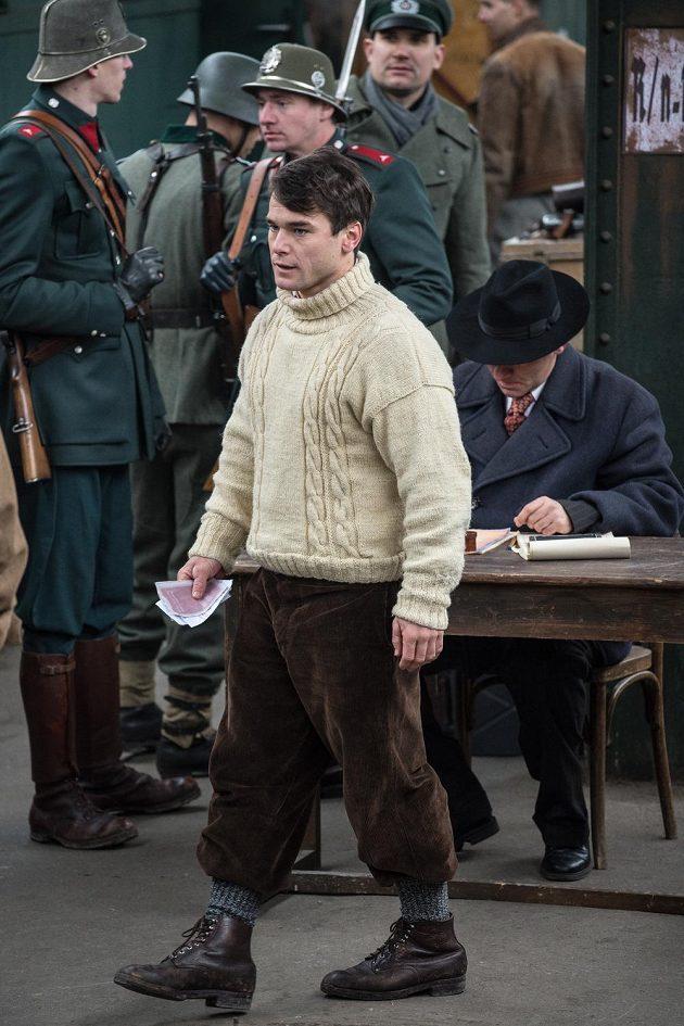 Vavřinec Hradilek v chystaném filmu Tenkrát v ráji ztvárnil postavu legendárního horolezce Josky Smítka.