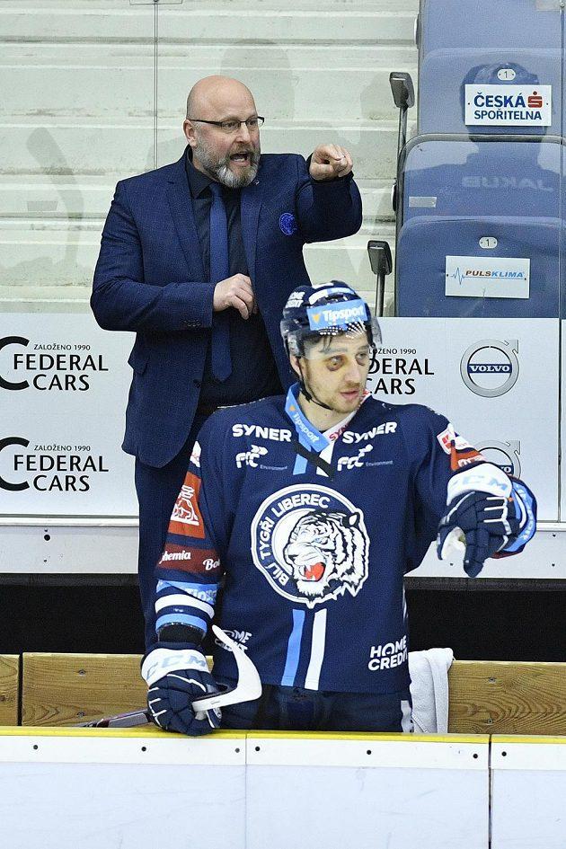 Trenér hokejového Liberce Patrik Augusta.