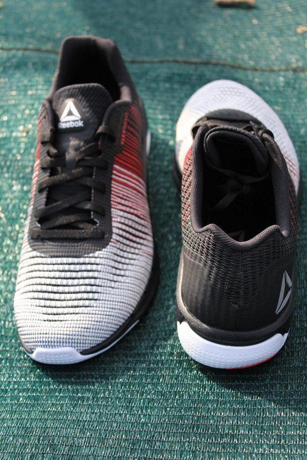 Běžecké boty Reebok Fast Flexweave - pohled zezadu.