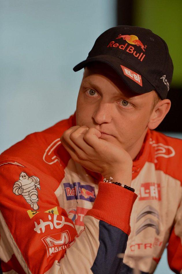 Mikko Hirvonen, pilot Citroën DS3 WRC, nemá v letošní sezóně mnoho důvodů k radosti.