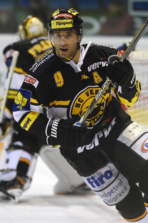Martin Ručinský z Litvínova se na výhře v Olomouci podílel gólem a přihrávkou.