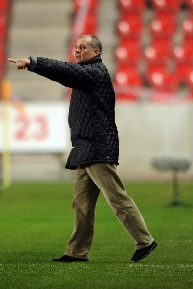 Petr Rada během utkání s Mladou Boleslaví.