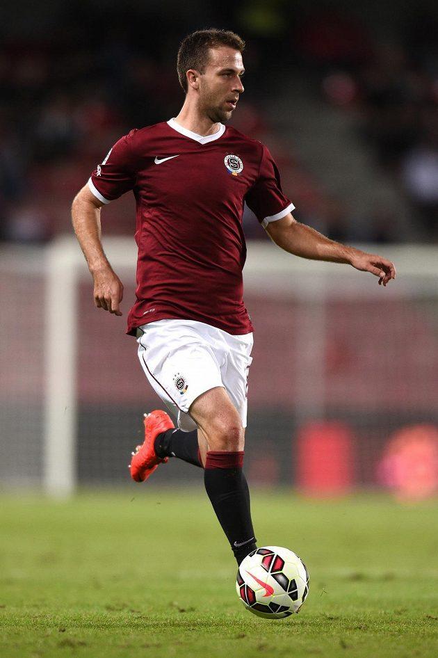 Sparťanský záložník Josef Hušbauer se v utkání proti Baníku střelecky neprosadil.