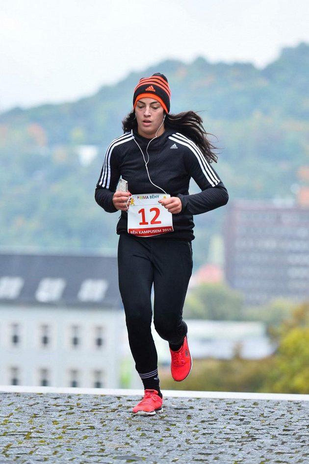 Boxerka Lucie Sedláčková. Běhání se nevyhne, ví, že musí.