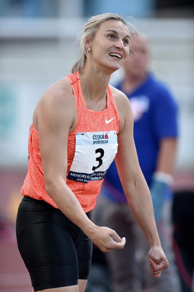 Barbora Špotáková letos poprvé přehodila 60 metrů.
