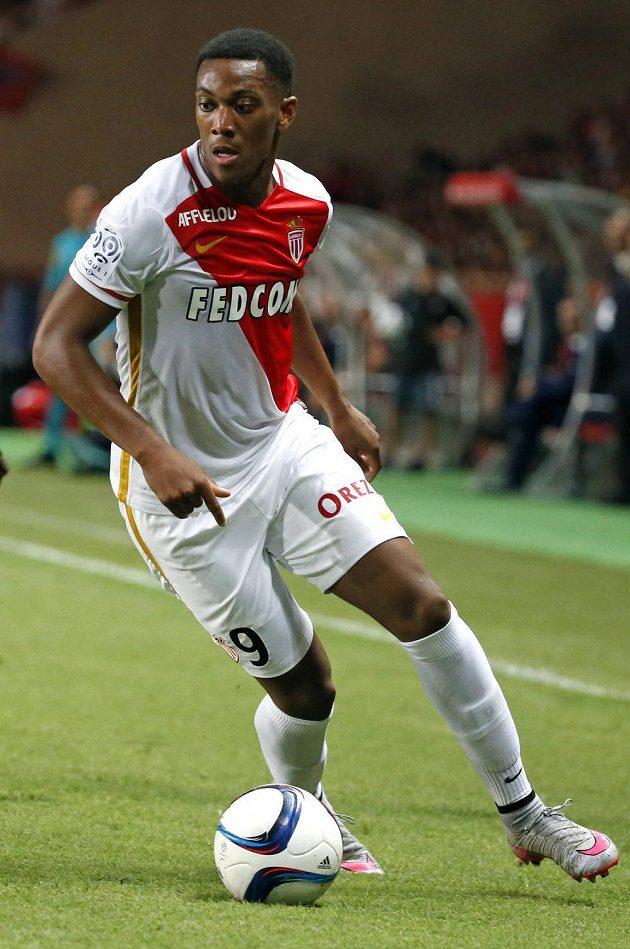 Anthony Martial ještě v dresu Monaka.