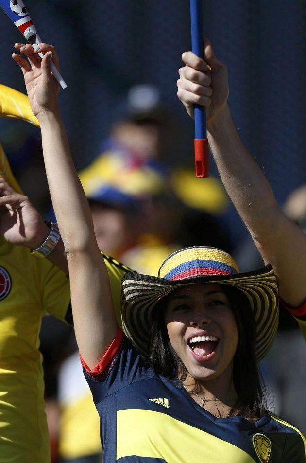 Také Kolumbijci se mají na co dívat.