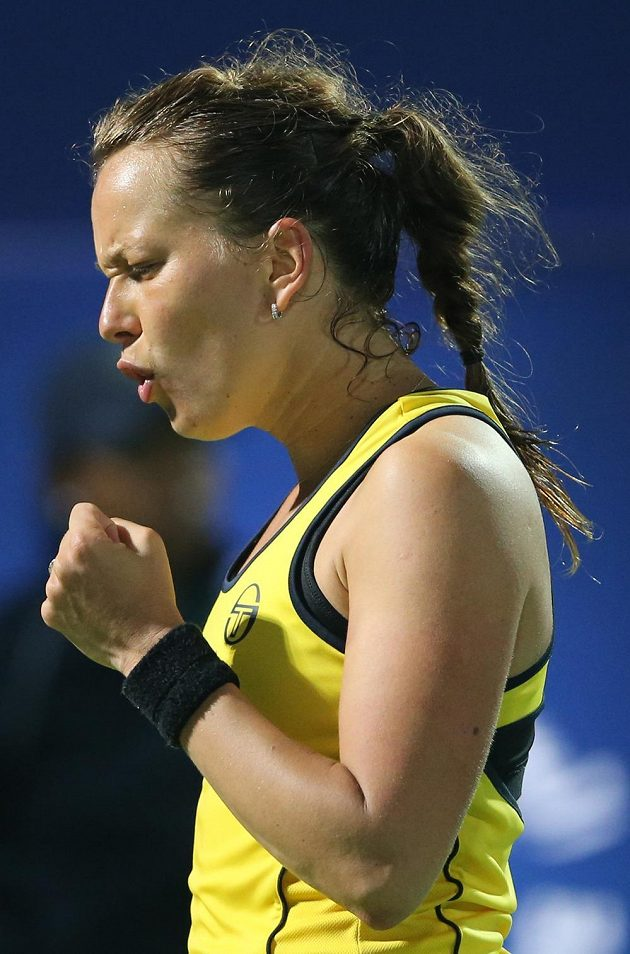 Úleva. Barbora Strýcová si v Dubaji zahraje o svou druhou trofej na okruhu WTA.
