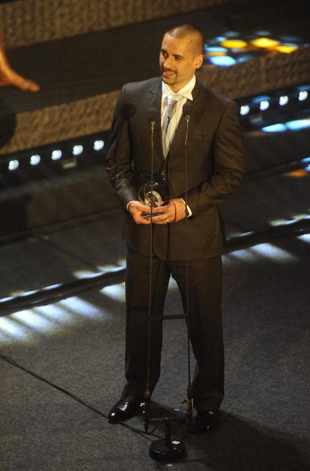 Tomáš Plekanec se stal podle ankety Zlatá hokejka třetím nejlepším českým hokejistou za uplynulý rok.