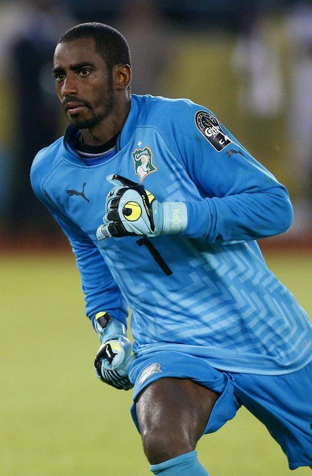 Brankář Pobřeží slonoviny Boubacar Barry, hrdina ze všech největší...