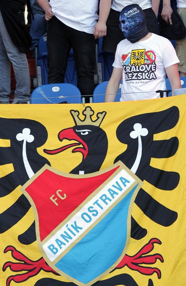 Fanoušek fotbalového Baníku Ostrava.