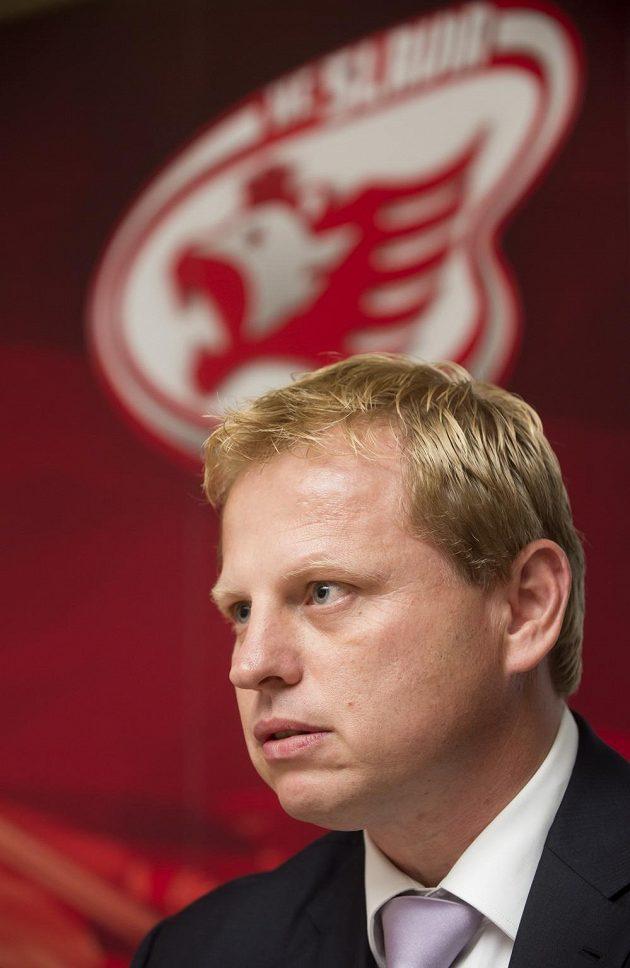 Člen představenstva hokejistů Slavie Praha Vladimír Pitter.