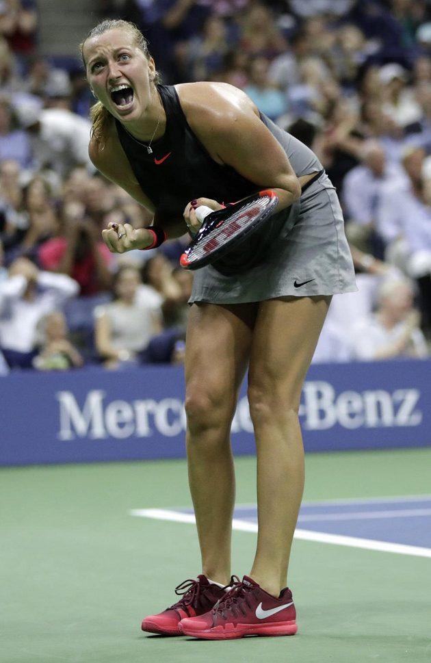 Česká tenistka Petra Kvitová prohrála po boji ve čtvrtfinále grandslamového US Open s domácí favoritkou Venus Williamsovou po setech 3:6, 6:3 a 6:7.