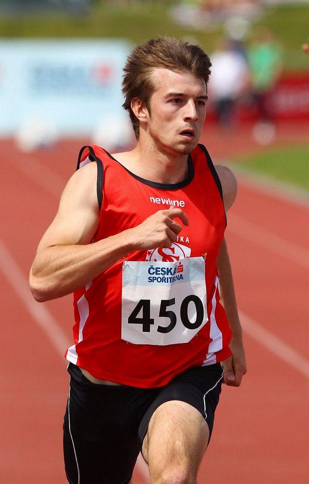 Sprinter Zdeněk Stromšík.