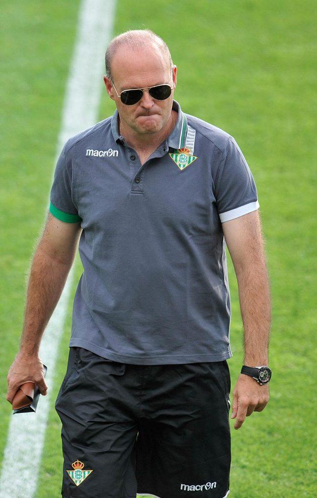 Trenér Betisu Sevilla José Mel.