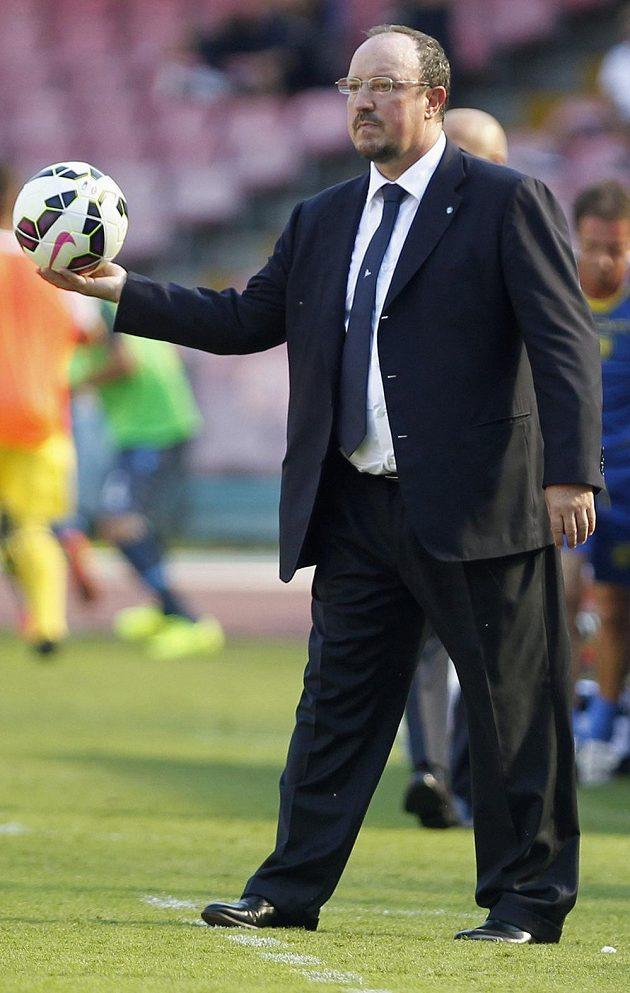Neapolský kouč Rafael Benítez.