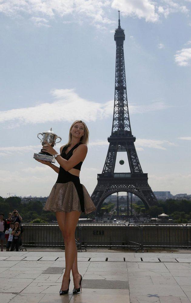 Maria Šarapovová patří k nejkrásnějším tenistkám na okruhu.