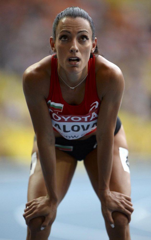 Bulharská sprinterka Ivet Lalovová se do finále závodu na 100 metrů na mistrovství světa v Moskvě neprobojovala.