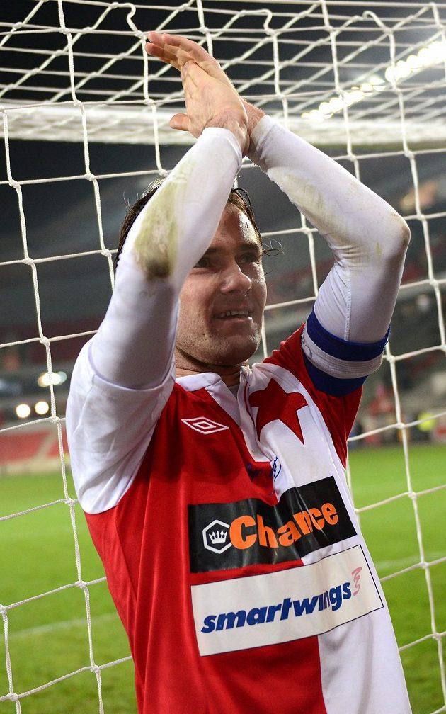 Karol Kisel oslavil s fanoušky poslední zápas kariéry.