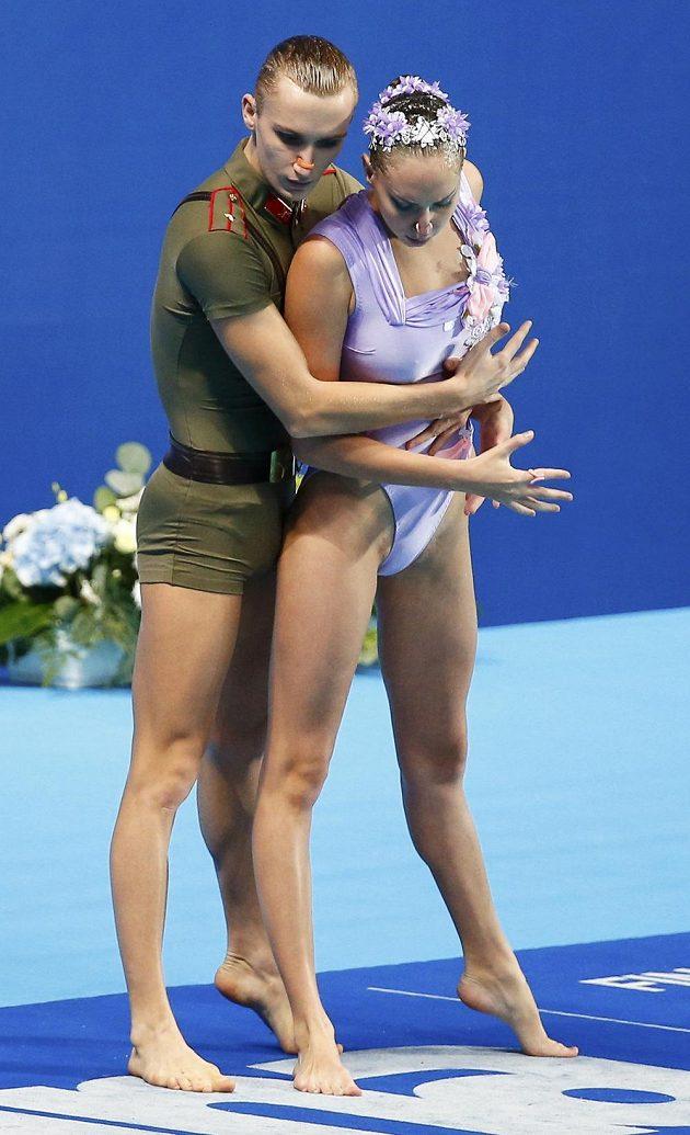 Rusové Aleksandr Malcev a Darina Valitovová.