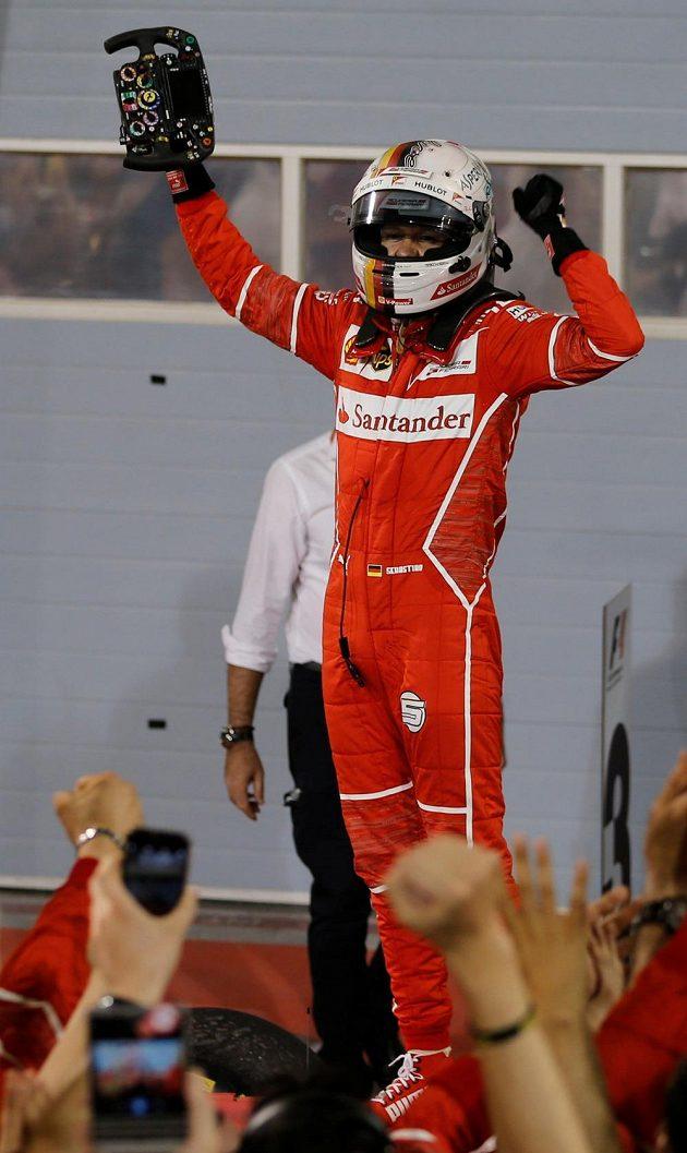 Sebastian Vettel je znovu nej...!