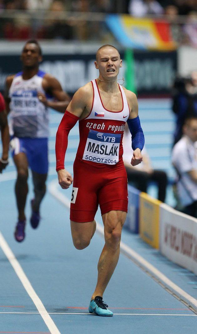 Pavel Maslák si ve finále čtvrtky počínal suverénně.