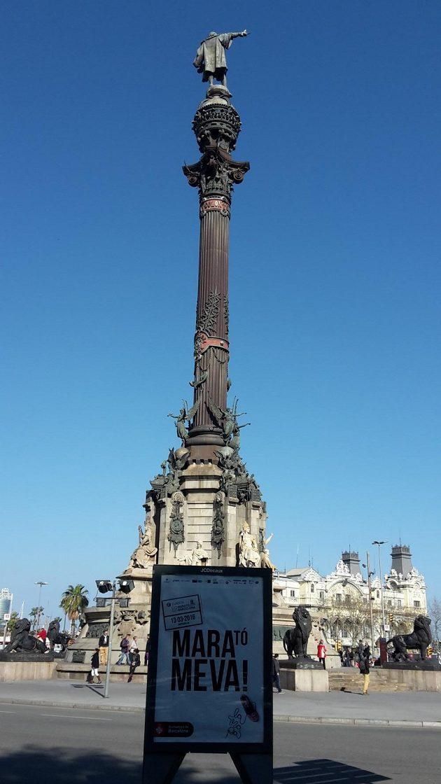 """Svou sochu v nadživotní velikosti tu má i """"objevitel"""" Ameriky Kryštof Kolumbus."""