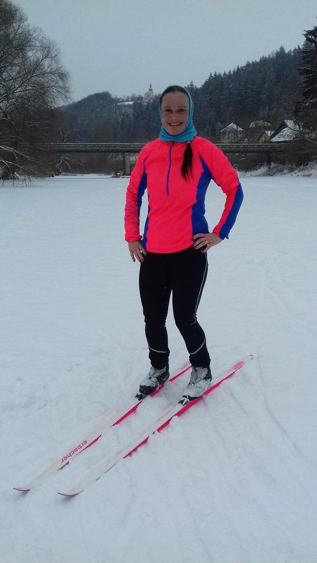 Větrovka Mizuno Premium Windtop: I na lyžích v běžeckém stylu.