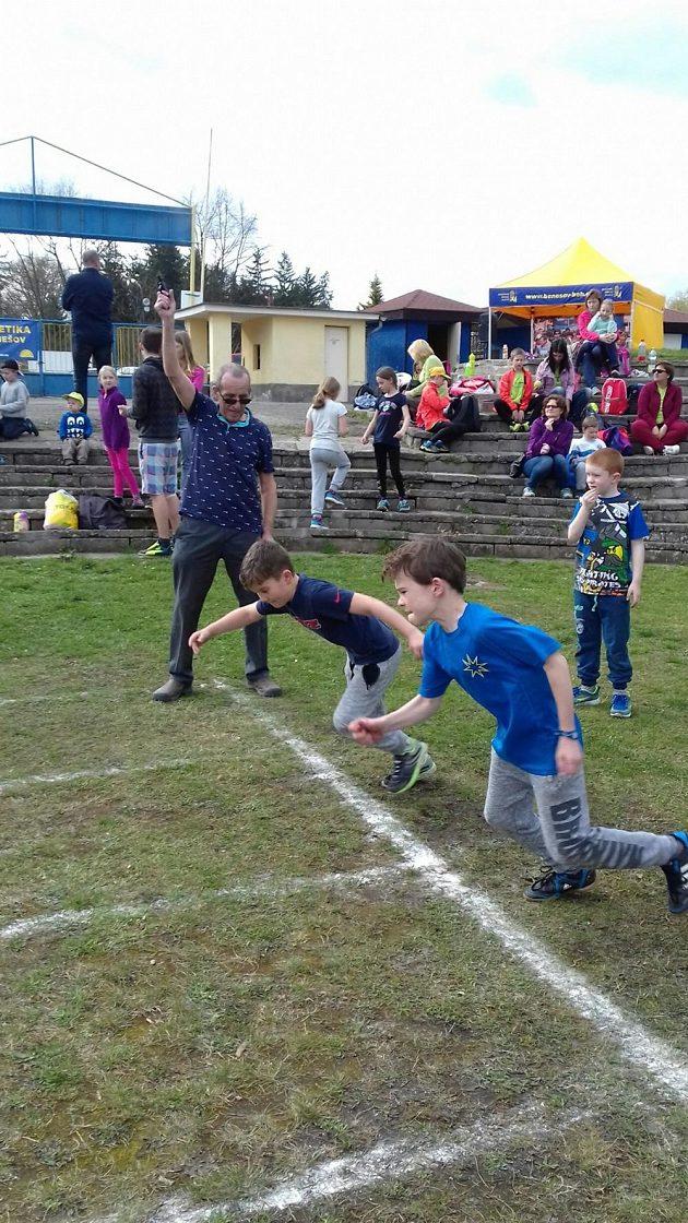 Atletických dětí je v Benešově jako smětí.